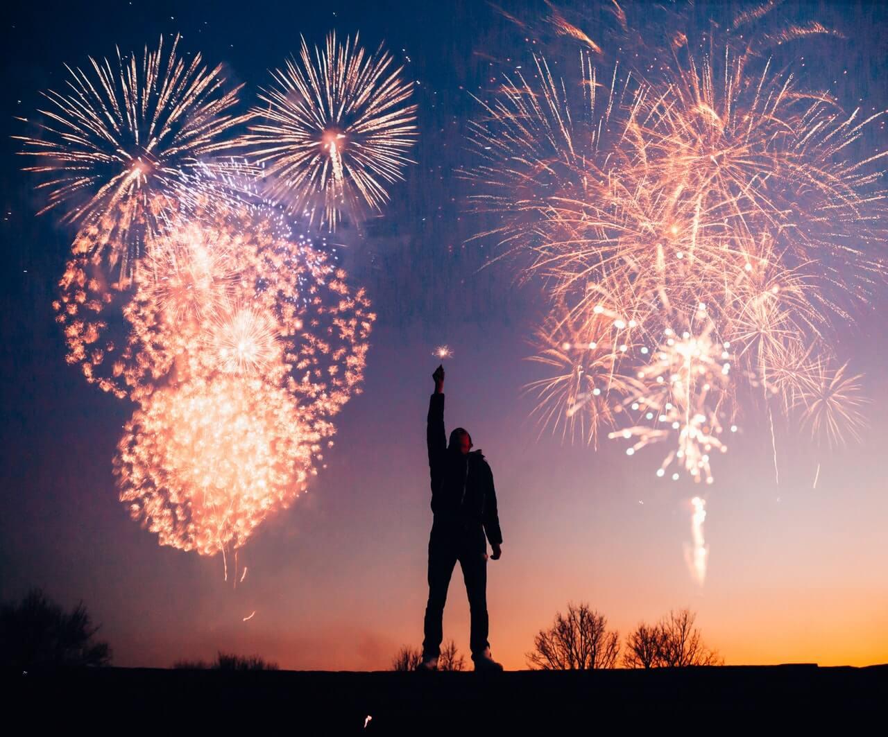 harapan baru di tahun baru dan usia baru