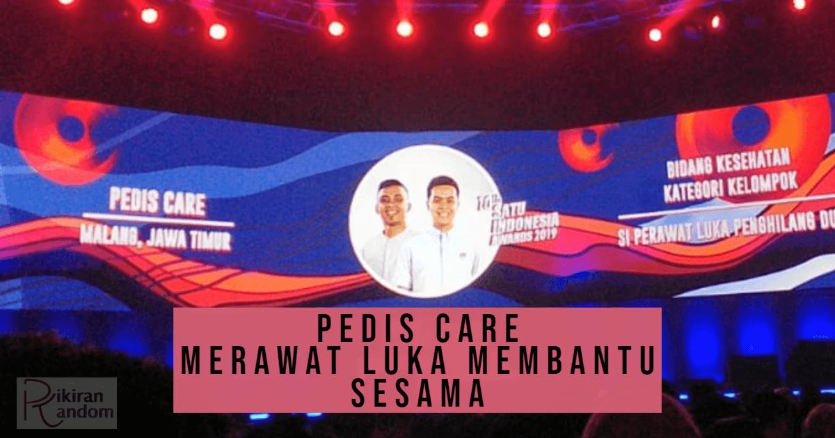 pedis care penerima apresiasi satu indonesia awards kebanggaan indonesia